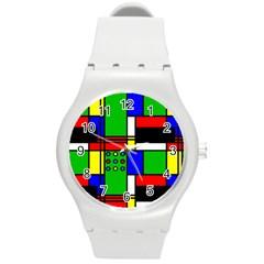 Mondrian Plastic Sport Watch (Medium)