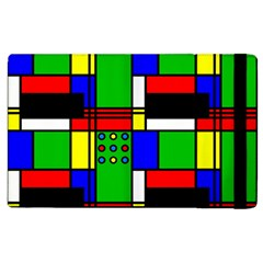 Mondrian Apple iPad 2 Flip Case