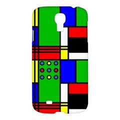 Mondrian Samsung Galaxy S4 I9500/i9505 Hardshell Case