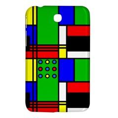 Mondrian Samsung Galaxy Tab 3 (7 ) P3200 Hardshell Case