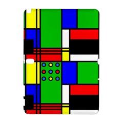 Mondrian Samsung Galaxy Note 10 1 (p600) Hardshell Case