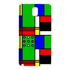 Mondrian Samsung Galaxy Note 3 N9005 Hardshell Back Case