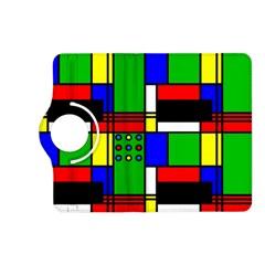 Mondrian Kindle Fire HD 7  (2nd Gen) Flip 360 Case