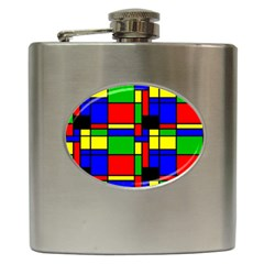 Mondrian Hip Flask