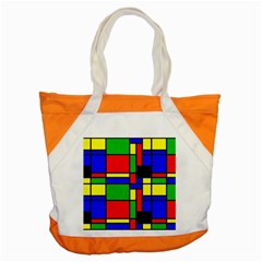 Mondrian Accent Tote Bag