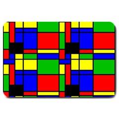 Mondrian Large Door Mat