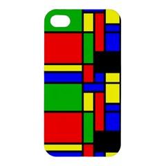 Mondrian Apple Iphone 4/4s Hardshell Case