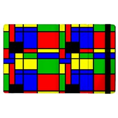 Mondrian Apple Ipad 3/4 Flip Case