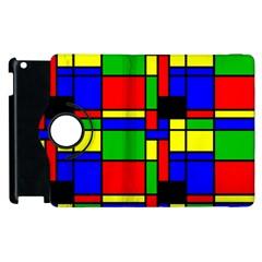 Mondrian Apple iPad 2 Flip 360 Case