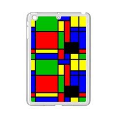Mondrian Apple iPad Mini 2 Case (White)