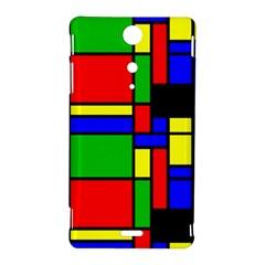 Mondrian Sony Xperia TX Hardshell Case