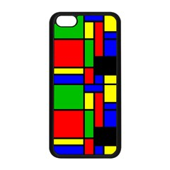 Mondrian Apple iPhone 5C Seamless Case (Black)