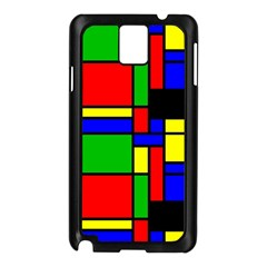Mondrian Samsung Galaxy Note 3 N9005 Case (black)