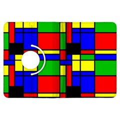 Mondrian Kindle Fire Hdx 7  Flip 360 Case
