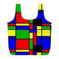 Mondrian Reusable Bag (L)