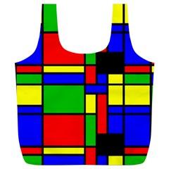 Mondrian Reusable Bag (XL)