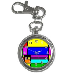 Mondrian Key Chain Watch