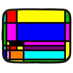 Mondrian Netbook Sleeve (large)