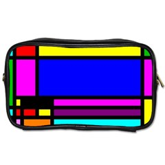 Mondrian Travel Toiletry Bag (one Side)