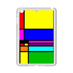 Mondrian Apple Ipad Mini 2 Case (white)