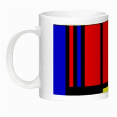 Mondrian Glow In The Dark Mug