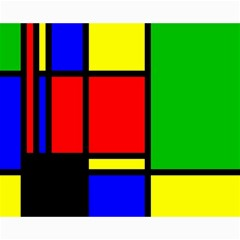 Mondrian Canvas 16  x 20  (Unframed)