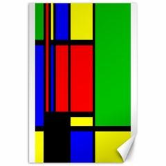 Mondrian Canvas 20  x 30  (Unframed)