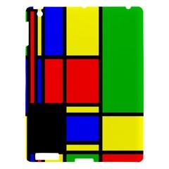 Mondrian Apple Ipad 3/4 Hardshell Case