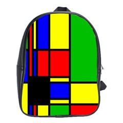 Mondrian School Bag (xl)