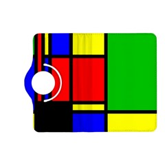 Mondrian Kindle Fire HD 7  (2nd Gen) Flip 360 Case