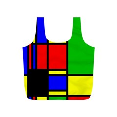 Mondrian Reusable Bag (s)