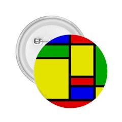 Mondrian 2 25  Button