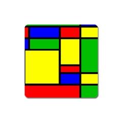 Mondrian Magnet (Square)