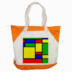 Mondrian Accent Tote Bag