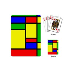 Mondrian Playing Cards (mini)