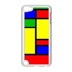 Mondrian Apple iPod Touch 5 Case (White)