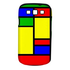 Mondrian Samsung Galaxy S III Classic Hardshell Case (PC+Silicone)