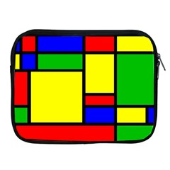 Mondrian Apple Ipad Zippered Sleeve
