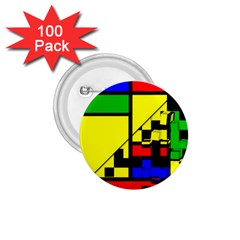 Moderne 1 75  Button (100 Pack)