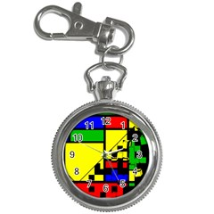 Moderne Key Chain Watch