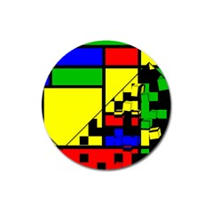 Moderne Magnet 3  (round)