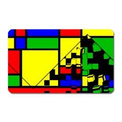 Moderne Magnet (rectangular)
