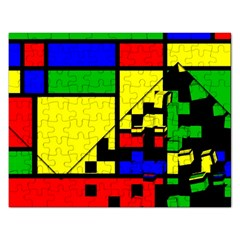 Moderne Jigsaw Puzzle (Rectangle)