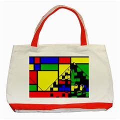 Moderne Classic Tote Bag (Red)