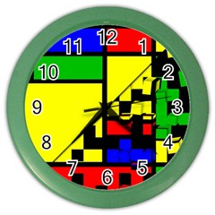 Moderne Wall Clock (color)