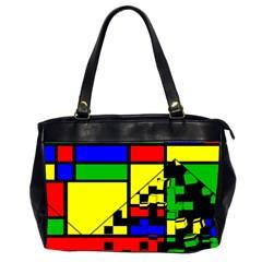 Moderne Oversize Office Handbag (two Sides)