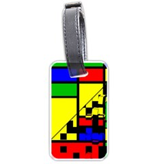 Moderne Luggage Tag (two Sides)