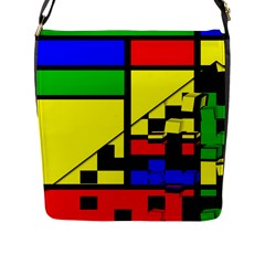 Moderne Flap Closure Messenger Bag (large)