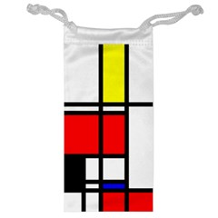 Mondrian Jewelry Bag