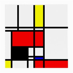 Mondrian Glasses Cloth (Medium)
